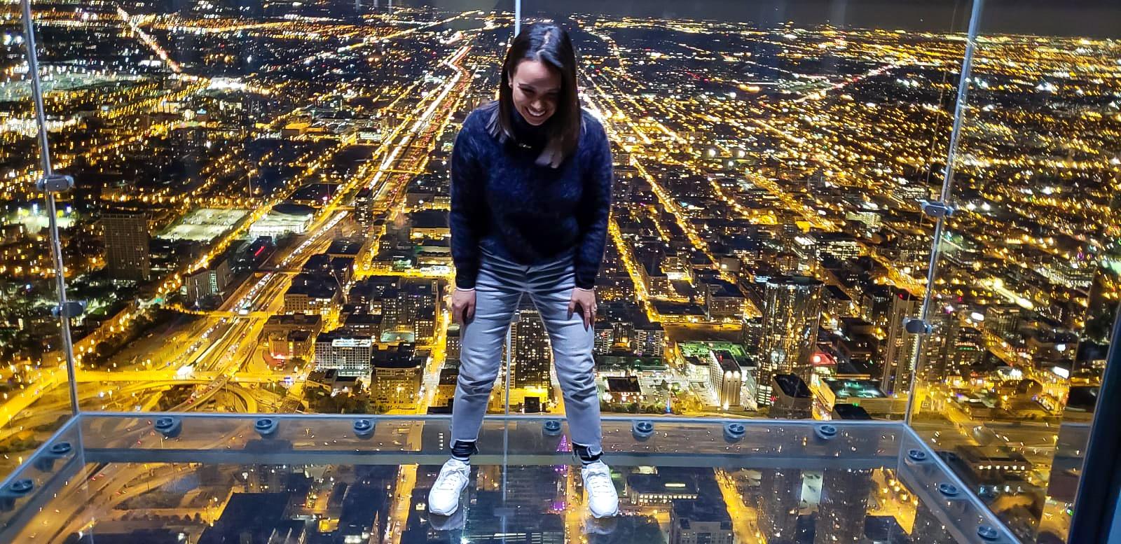 Aquí aprendí a perderle el miedo a las alturas hahahaha