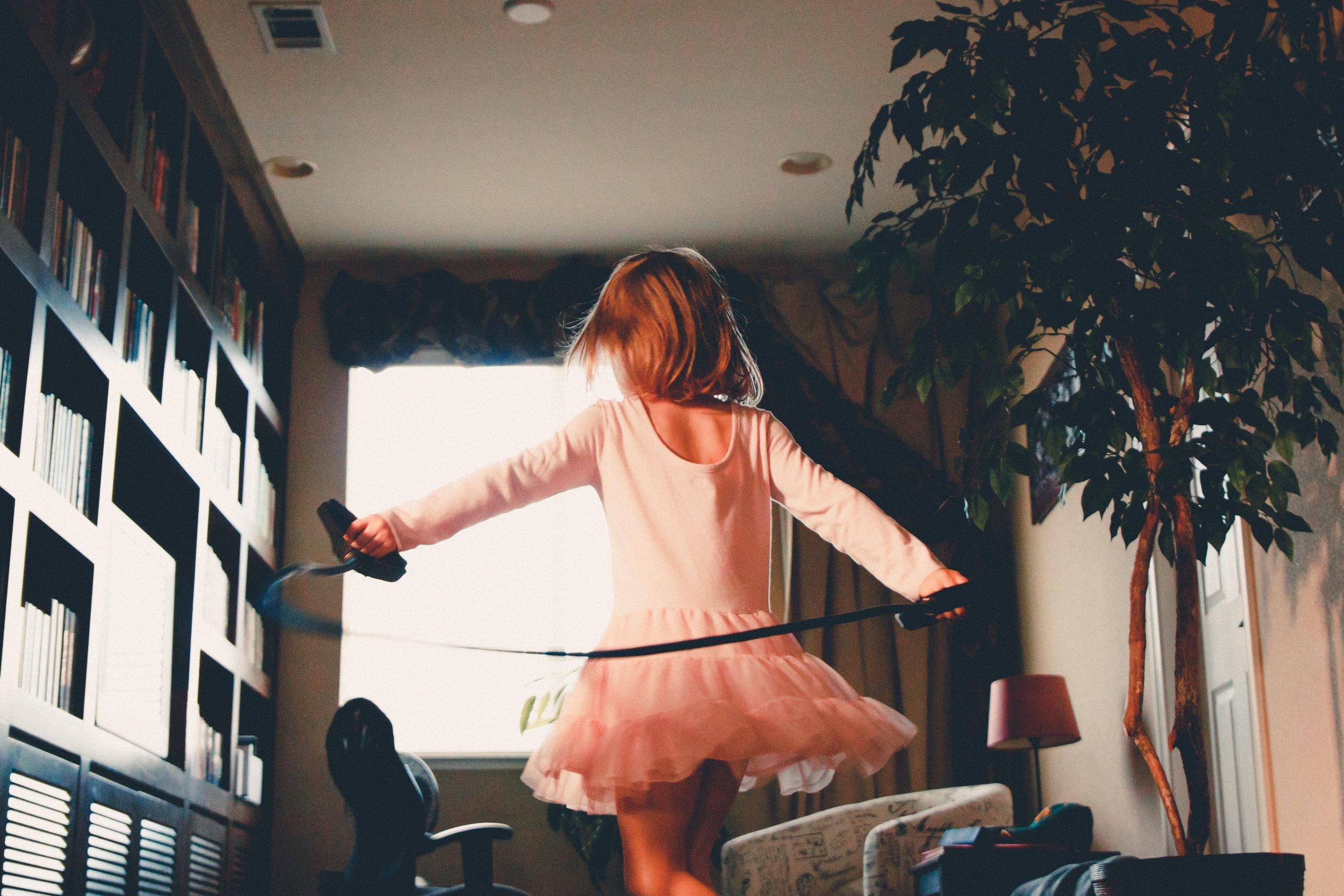 Confident child building your child's confidence