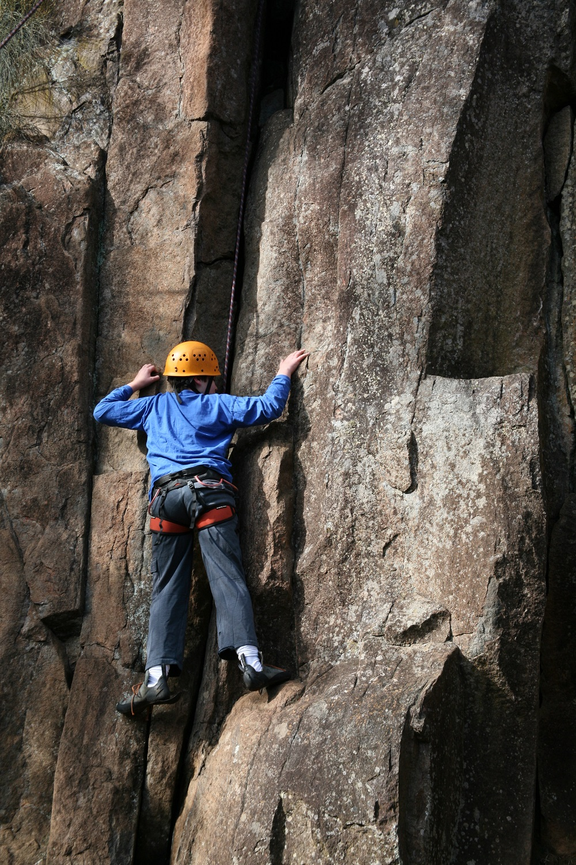 Cataract Gorge rock climbing