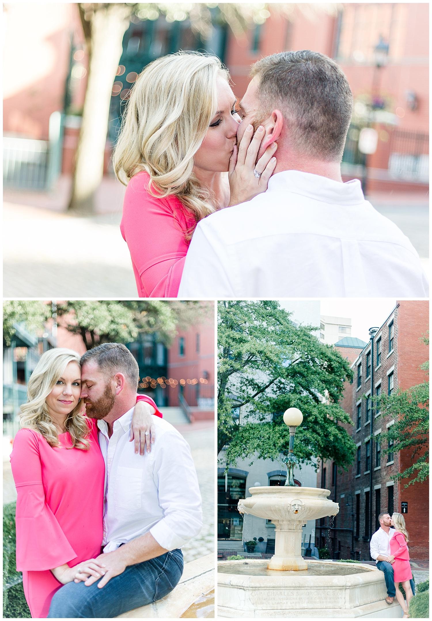 Richmond Fine Art Wedding Photographer Stacie Marshall Arts Photographer - Mike + Marianne Engagement Session Shockoe Slip