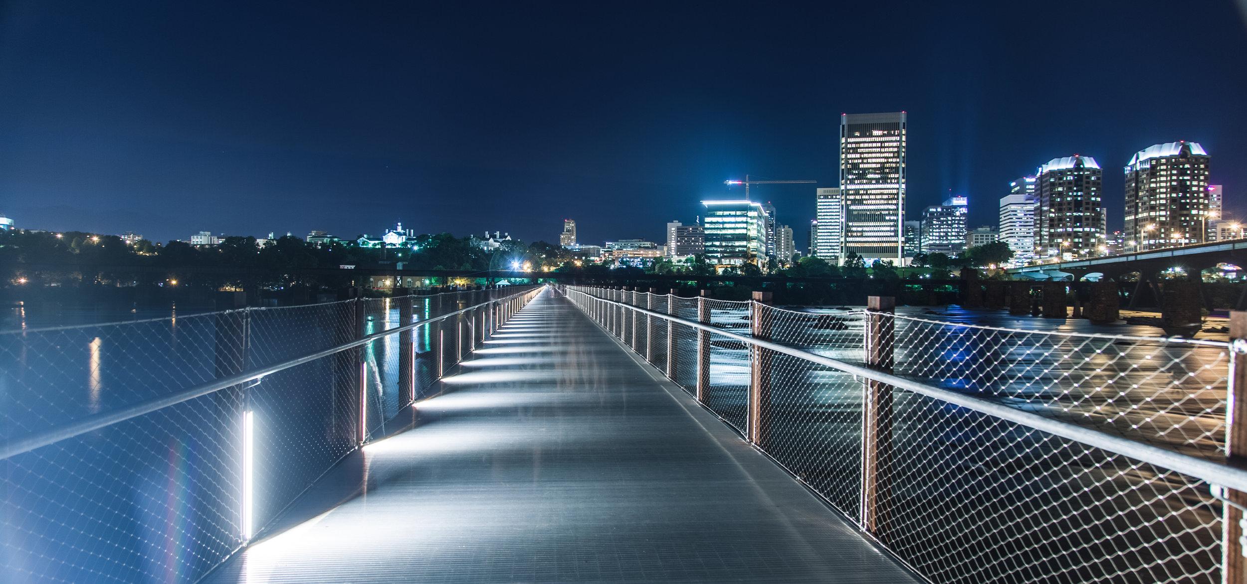 T Tyler Potterfield Bridge - Richmond, Virginia