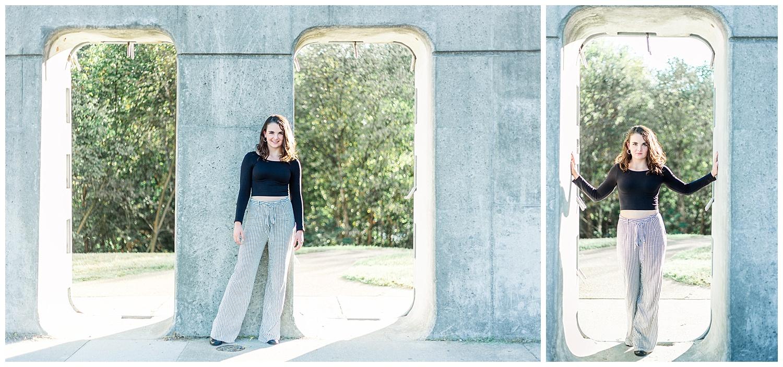 Shockoe Slip Senior Portraits - Richmond, Virginia