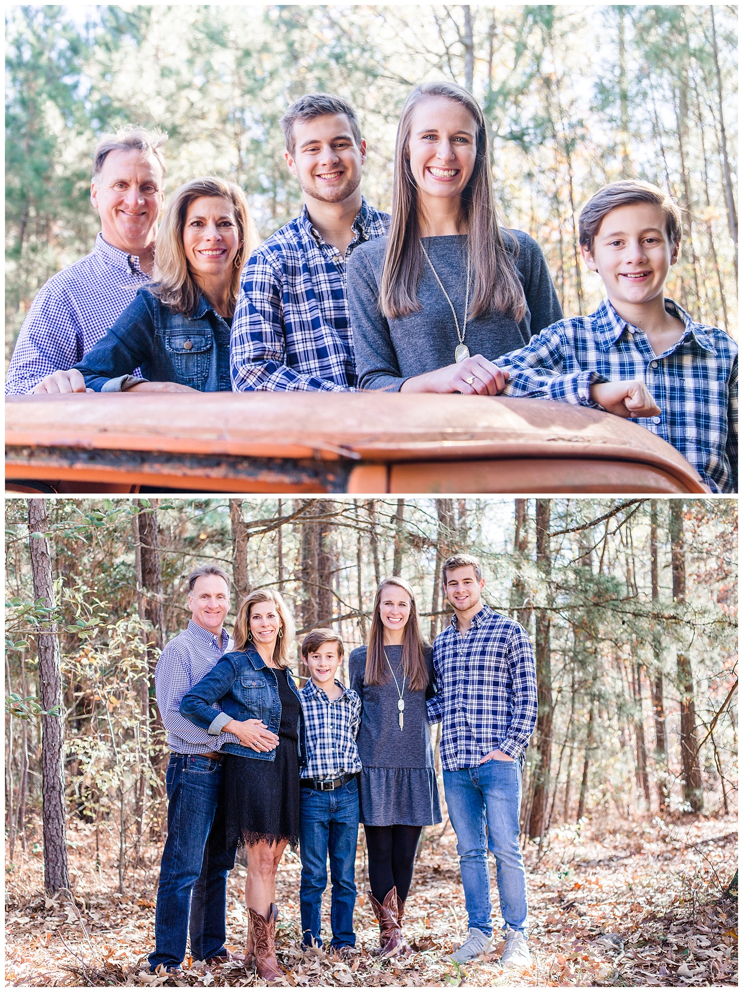 Country Casual Family Portraits in Glen Allen, VA