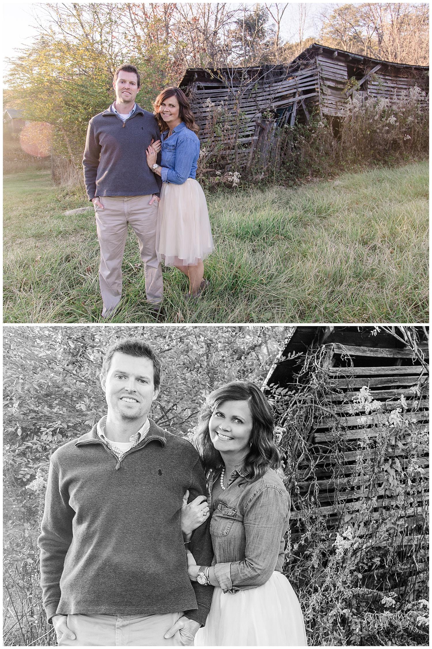 Couple Portraits in Covington, Virginia