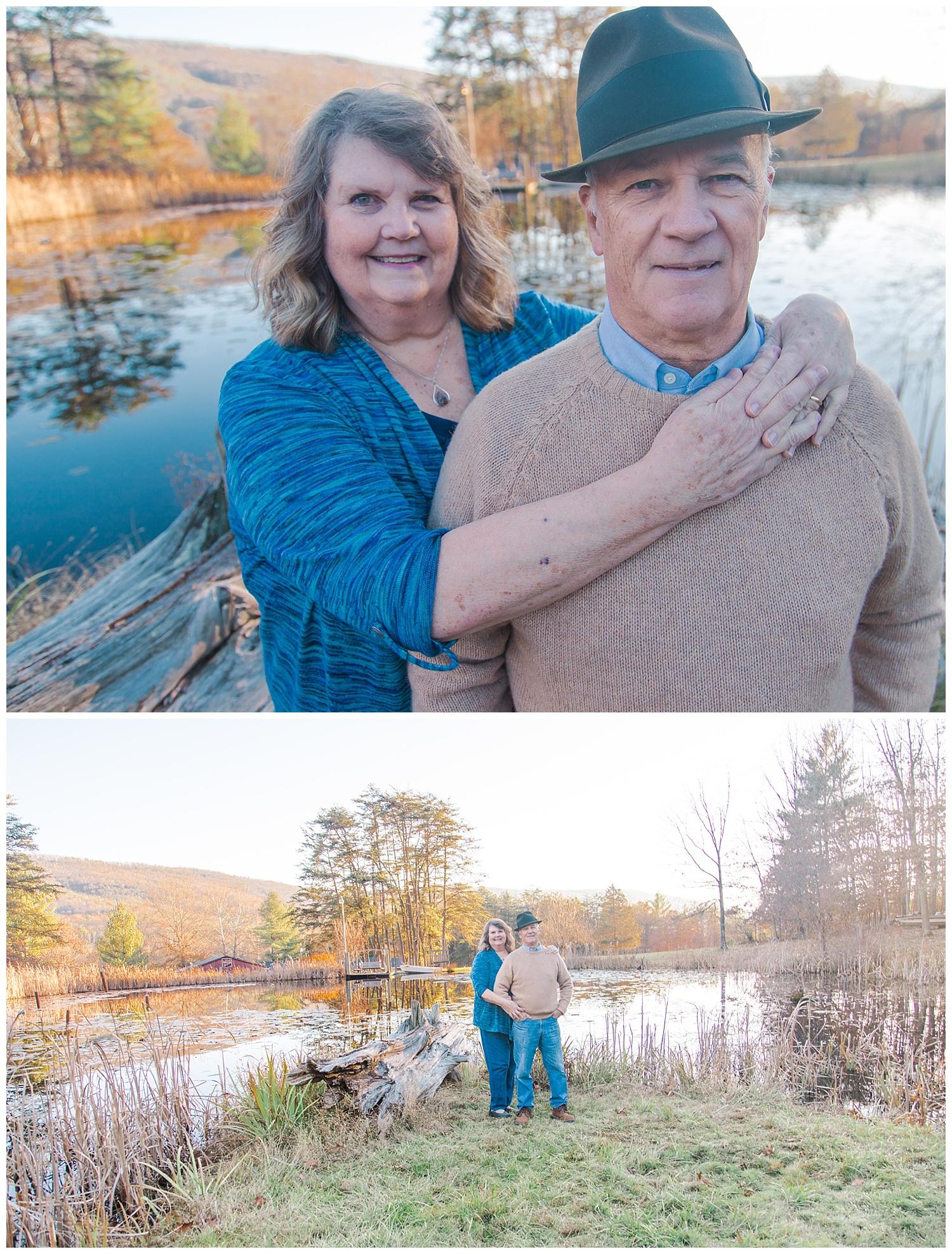 Anniversary Portraits in Covington, Virginia