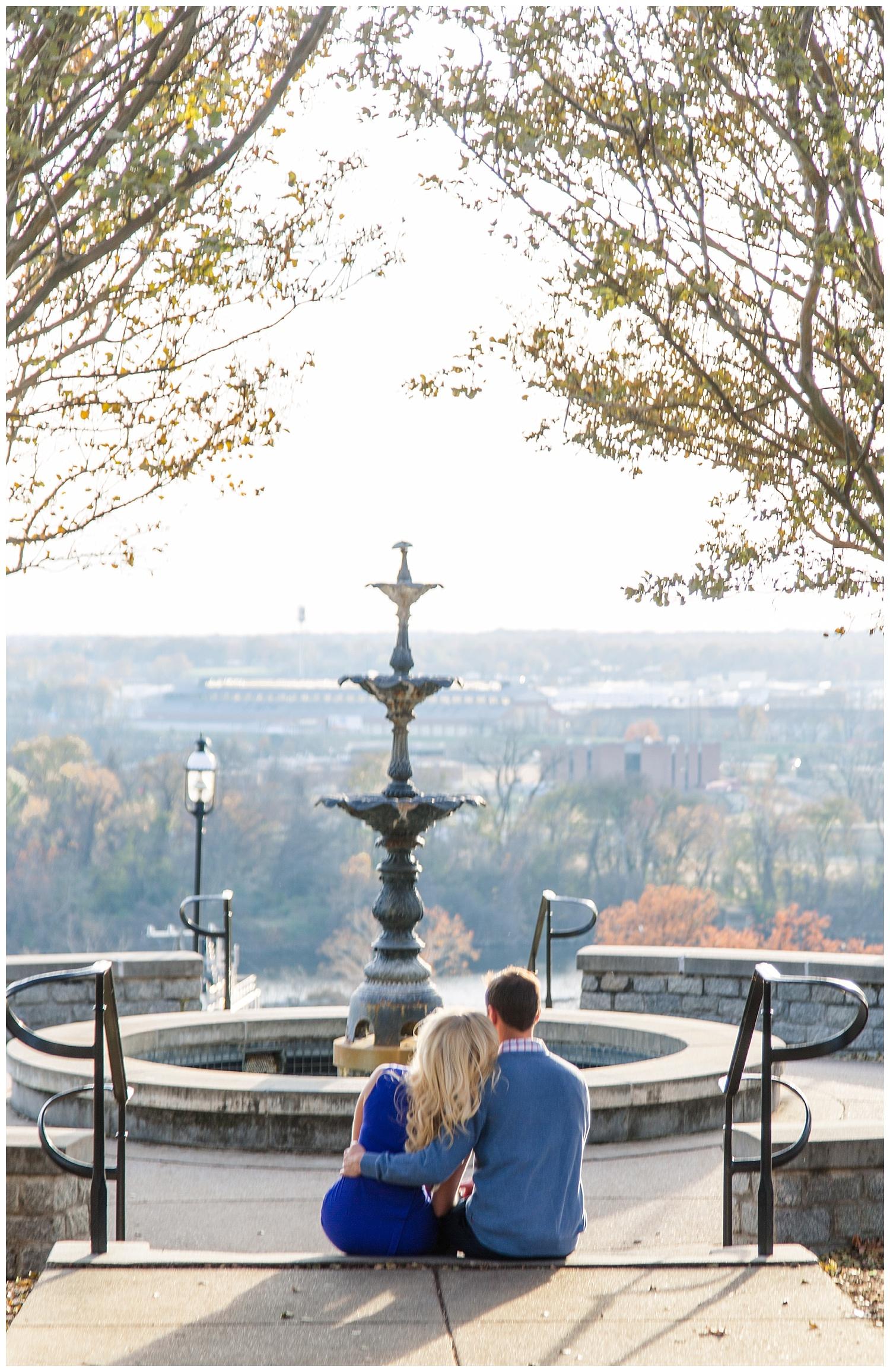 Church Hill Engagement, Libby Hill Park, Richmond VA