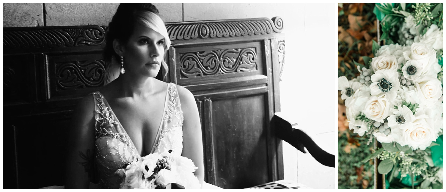 Bridal Portraits - Branch Museum of Architecture and Design