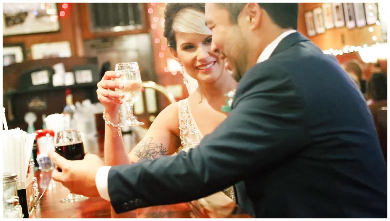 Couple's First Look at Joe's Inn - Richmond, VA