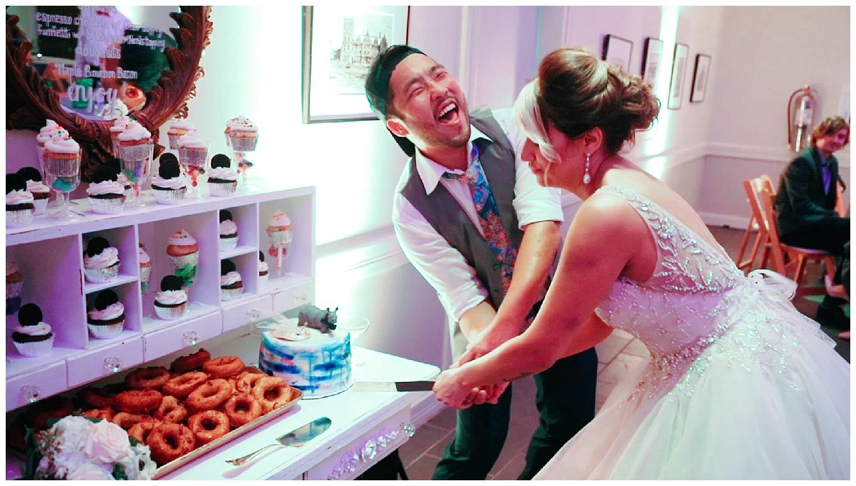 Fan Wedding Reception - Virginia Historical Society