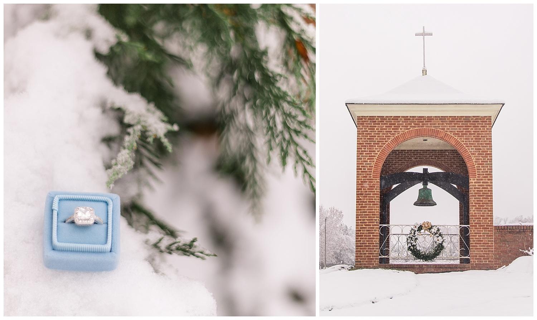 Mechanicsville Snow - Wedding Photography