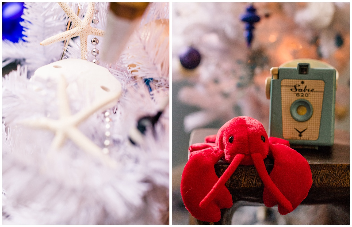 Coastal Christmas Decor - Lobster