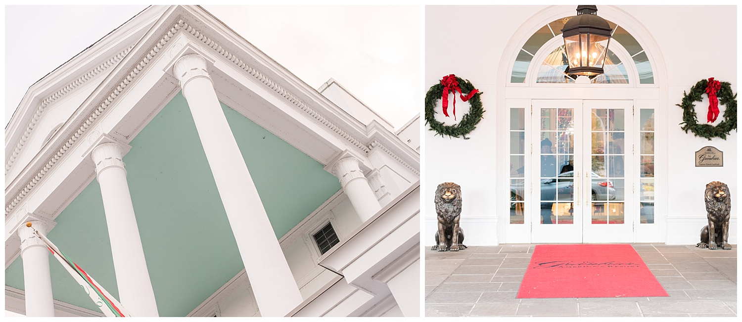 Photos of The Greenbrier at Christmas