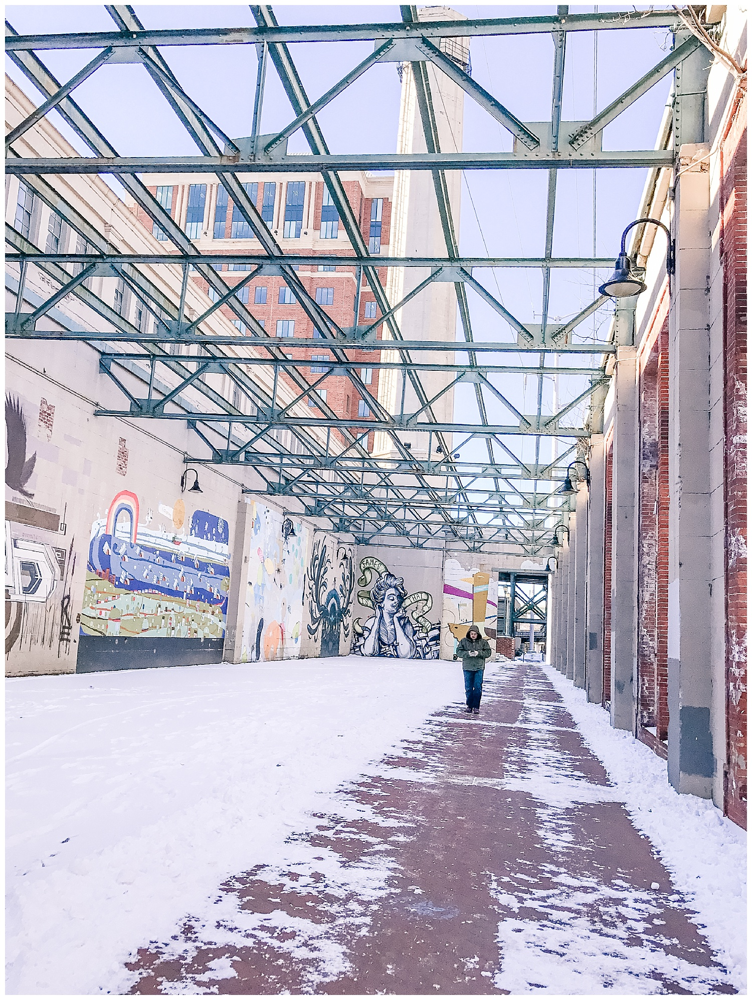 Richmond Canal Walk in Snow - Photographer Stacie Marshall