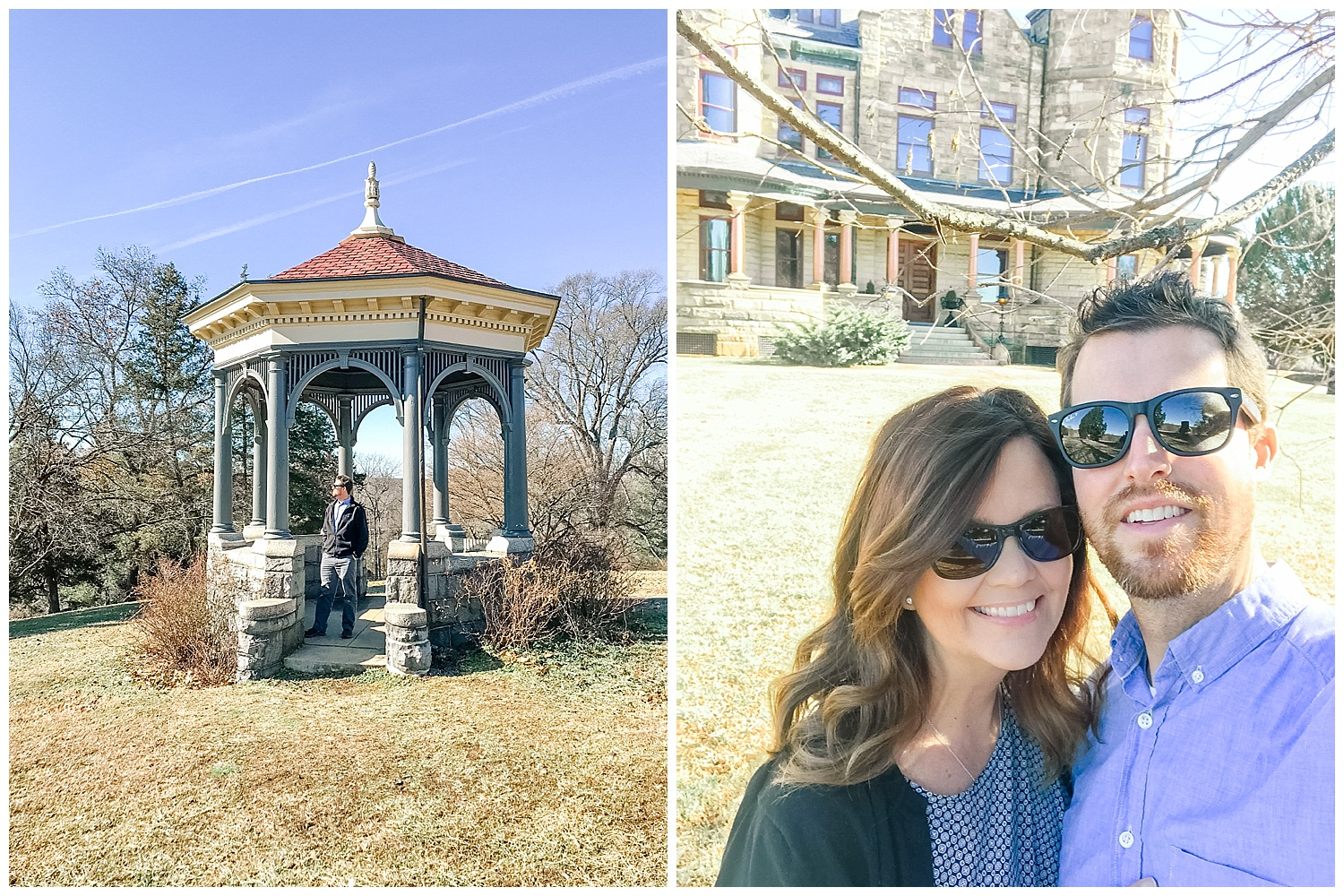 Photographer Stacie Marshall and Trip Wells - Maymont, Richmond Virginia