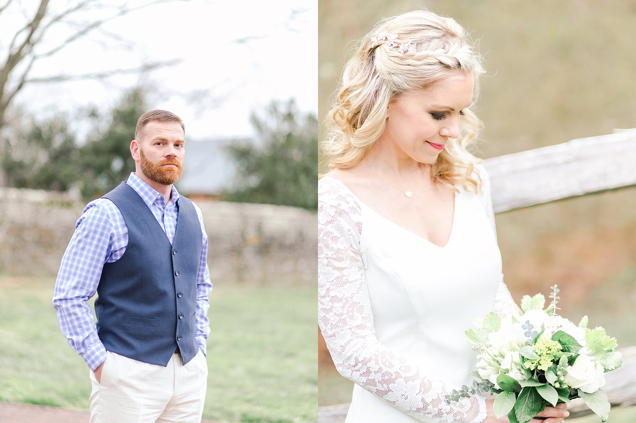 Intimate Virginia Wedding at Hanover Tavern - Marianne + Mike