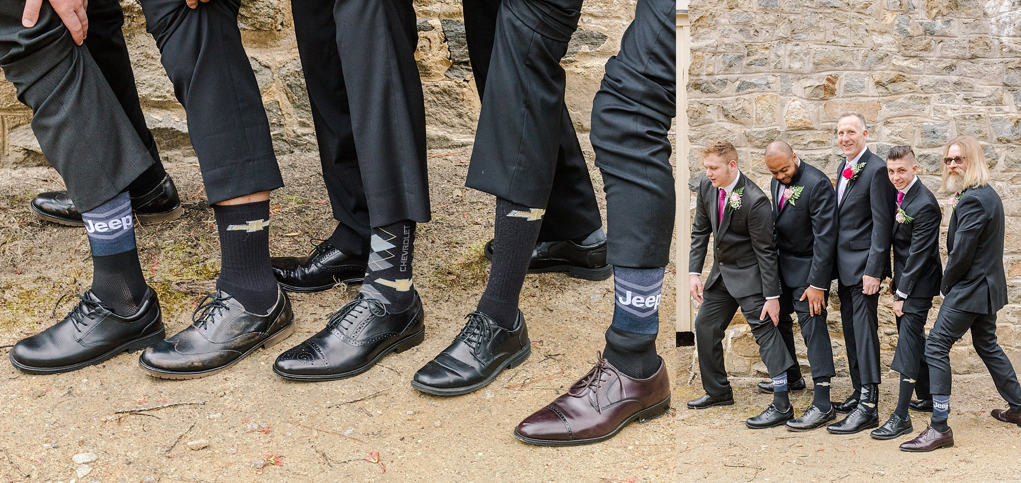 Chesterfield Wedding - Groomsmen