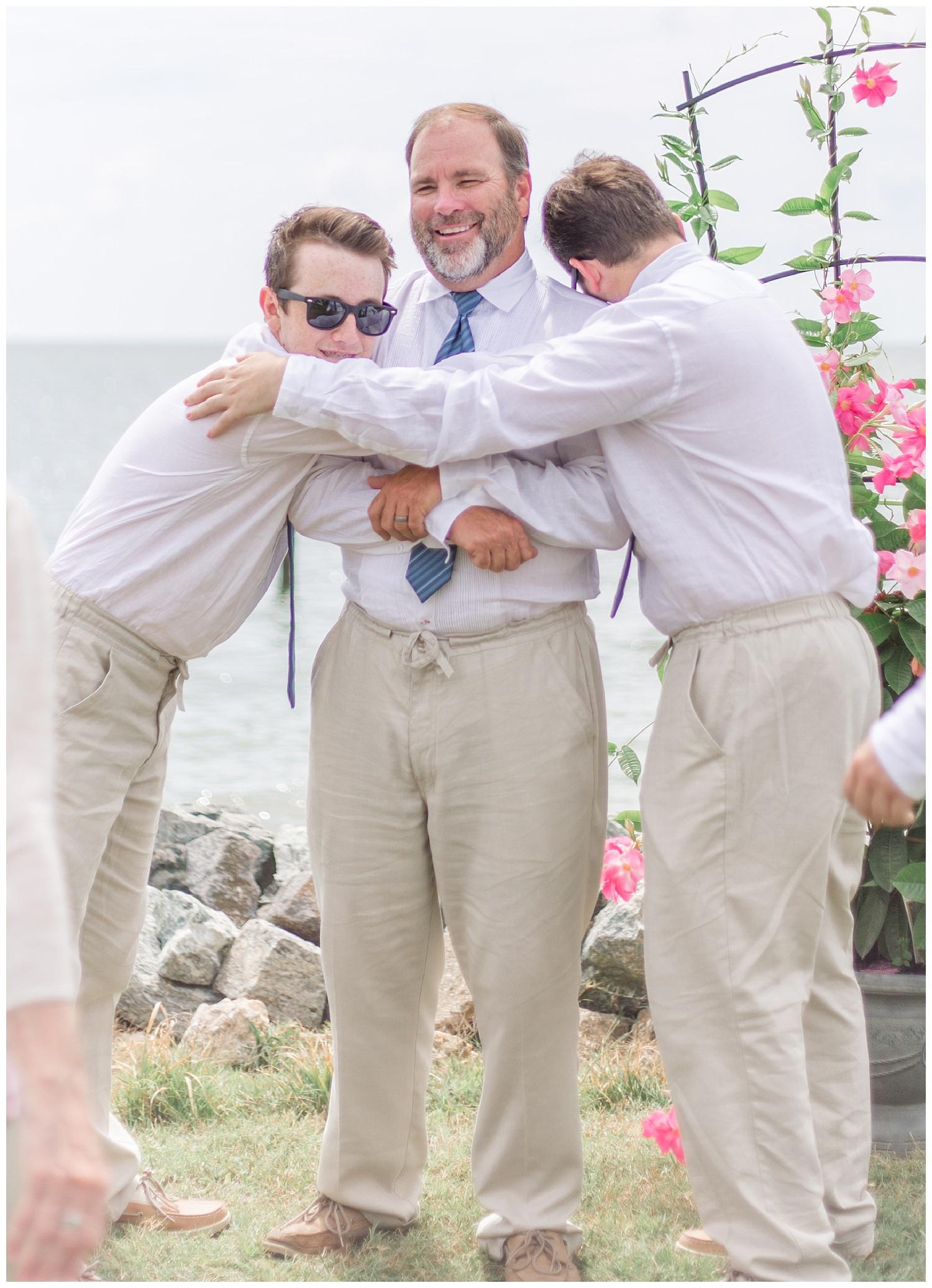 Deltaville Wedding by the Water - Joni + Ken