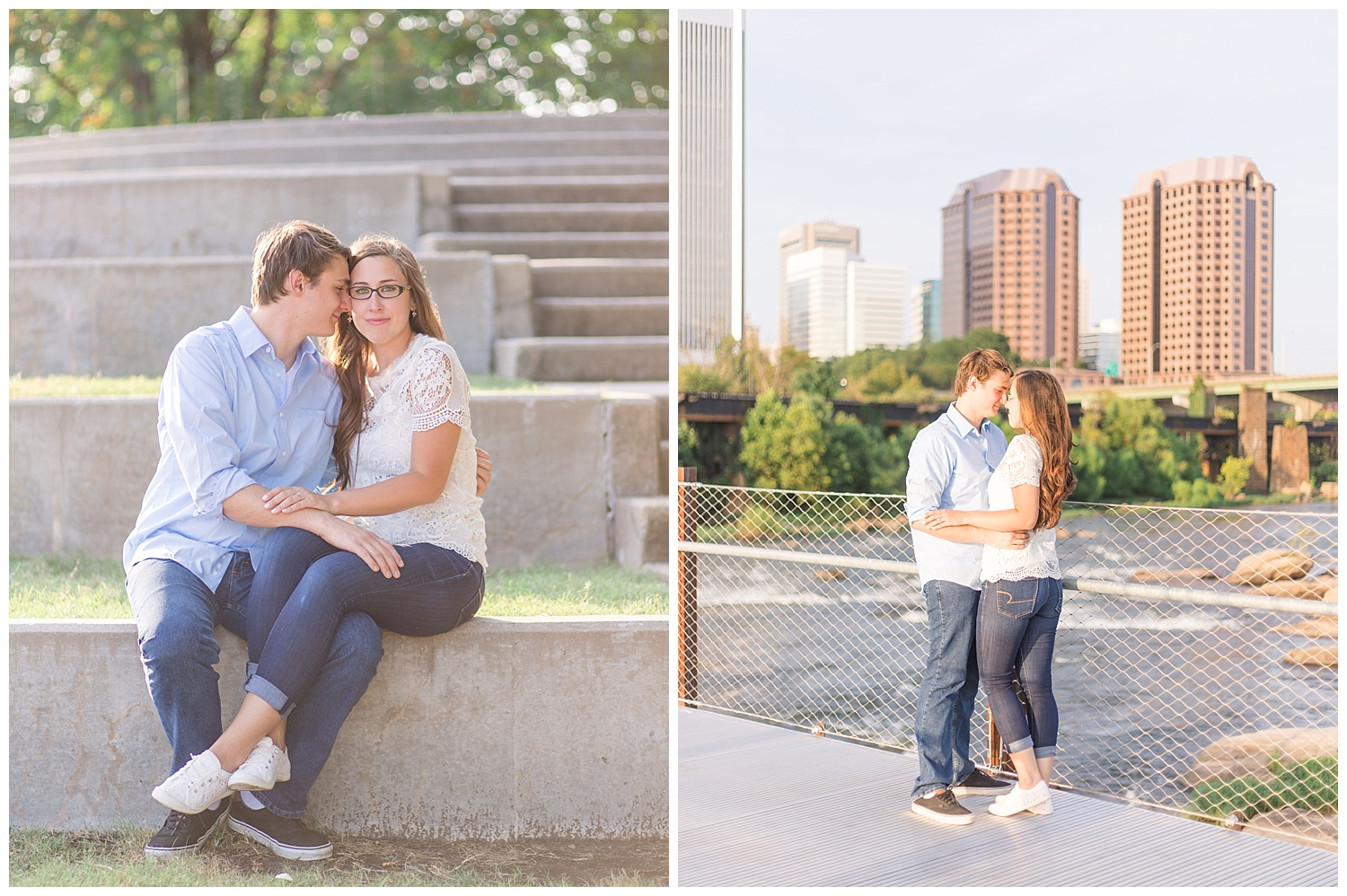 Richmond Engagement - Tredegar and Manchester, Jessica + Josh