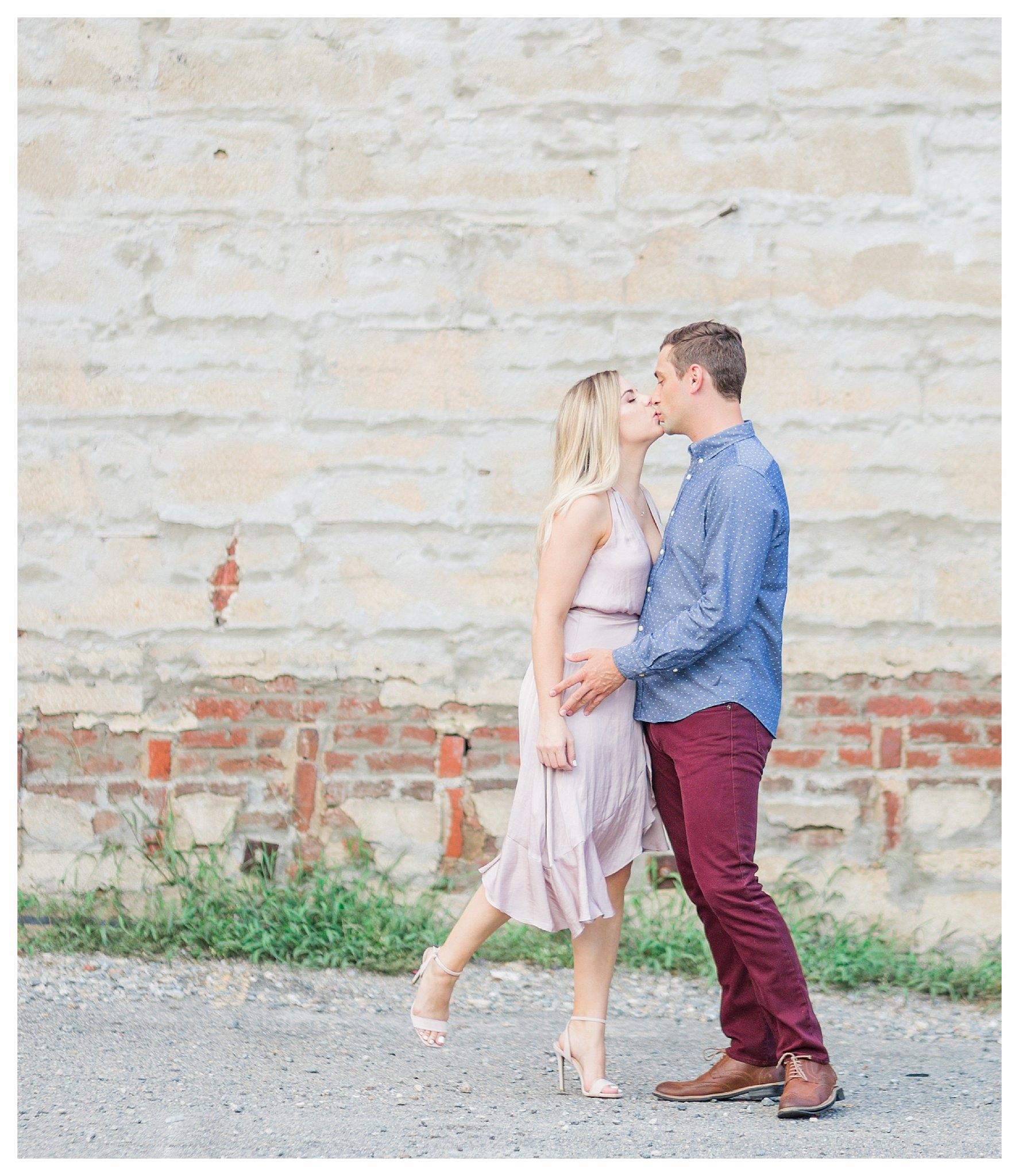 Richmond Engagement Photos - Main Street Station - Katie + Reid