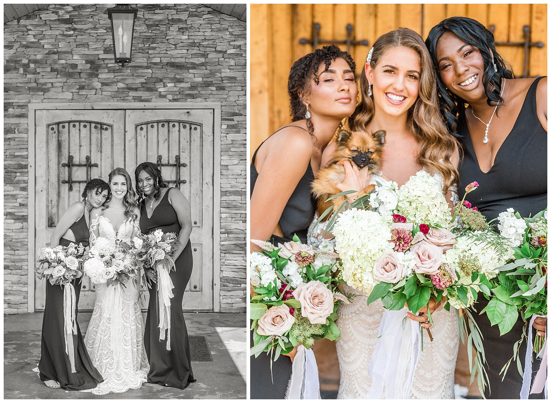 Ashton Creek Vineyard Wedding Shoot with 'Beanie' Dog