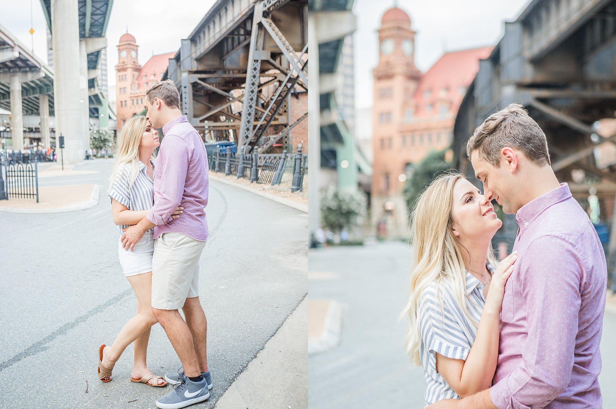 Main Street Station engagement session - Katie + Reid