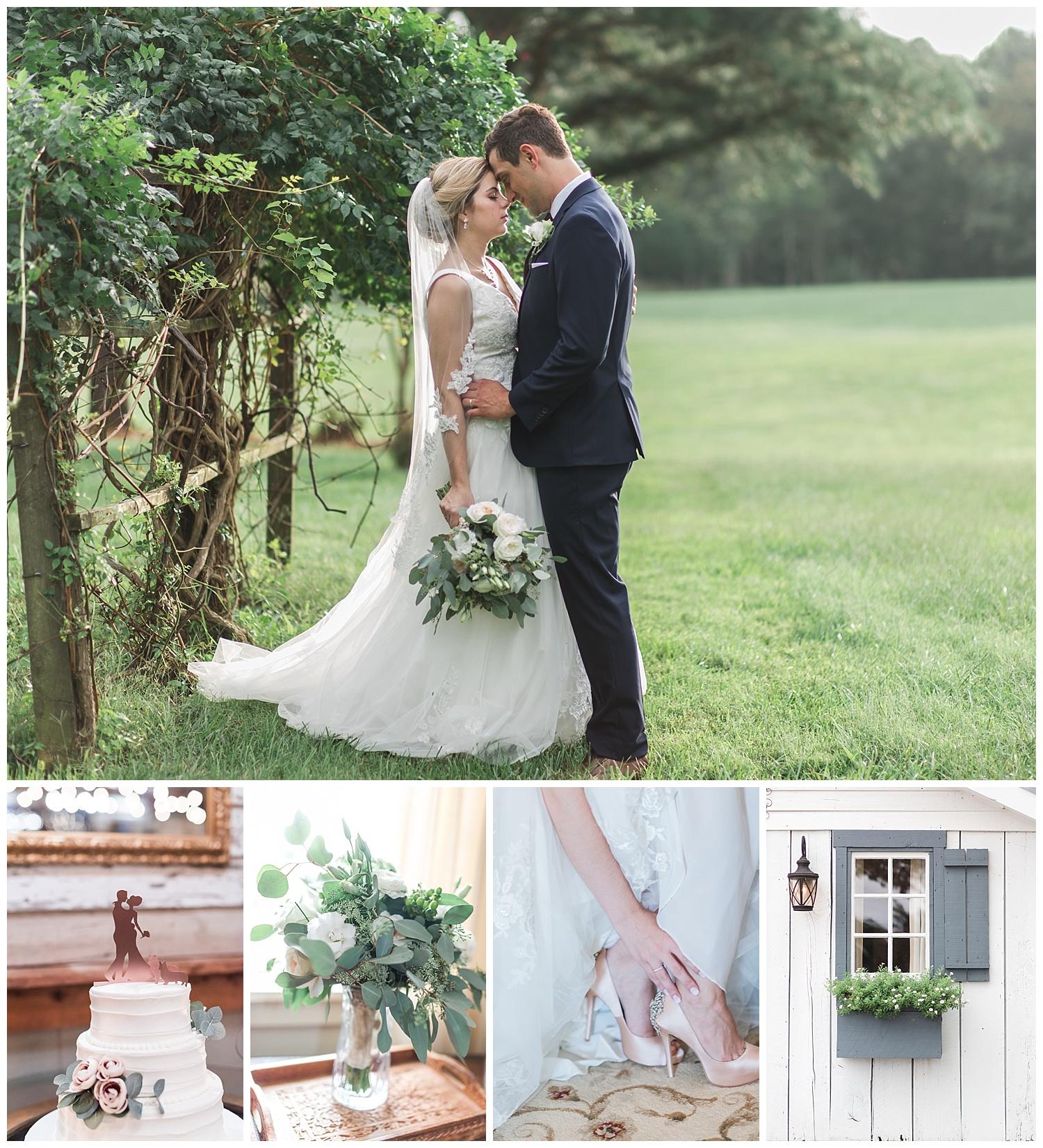 Vineyard Estate at New Kent Winery Wedding photo