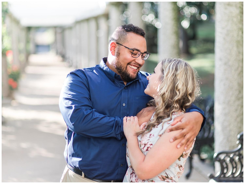 Virginia Wedding Photographer - Maymont Engagement Portraits - Marissa + Josh