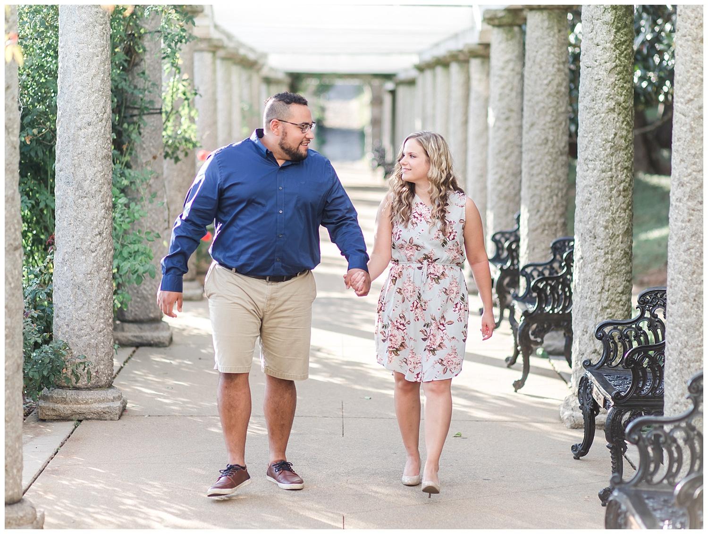 Virginia Wedding Photographer - Maymont Engagement Portraits - Marissa + Joshua