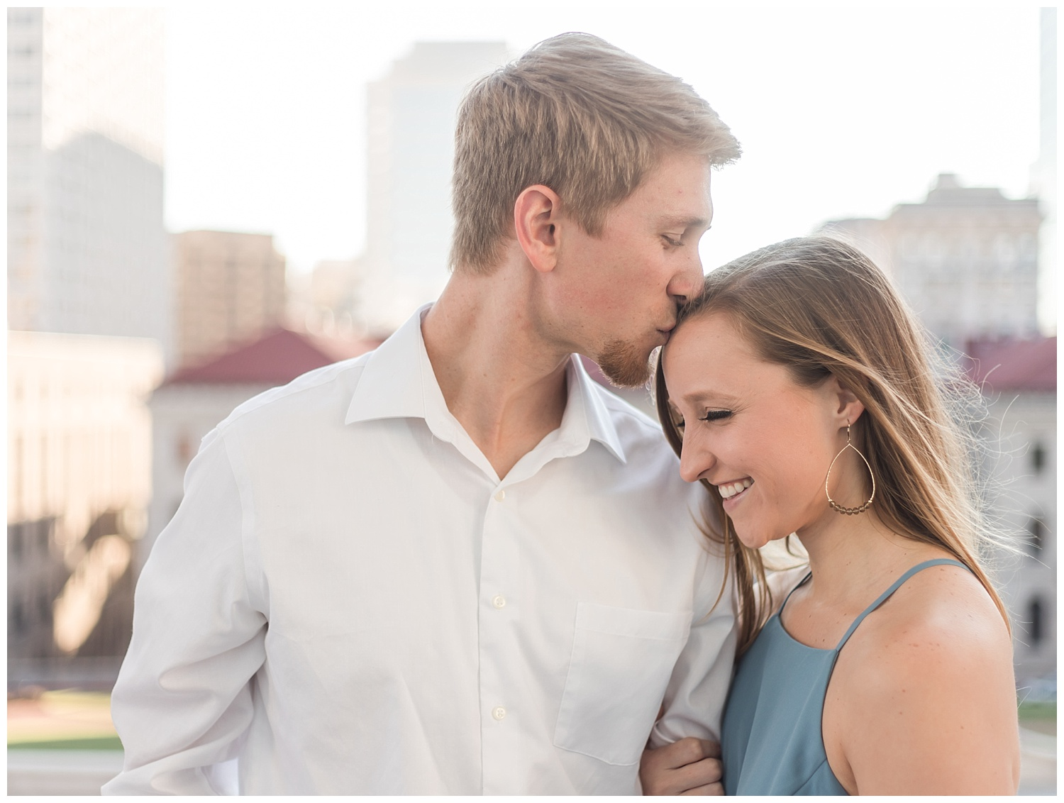 Virginia State Capitol Engagement Session  - Abigail + Greg