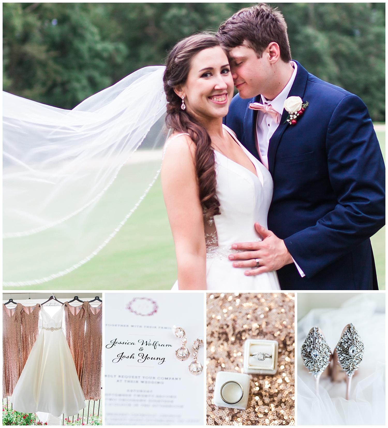 St. Bridget's Church - Brandermill Country Club - Virginia Wedding Photographer
