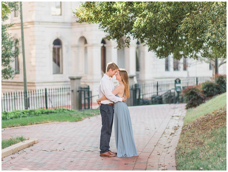 Virginia State Capitol Engagement - Abigail + Greg