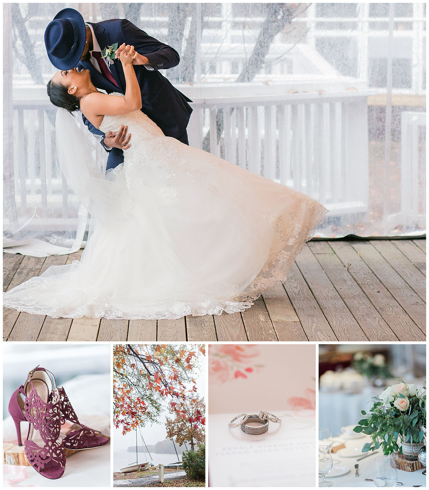 Boathouse Wedding - Richmond Virginia - Ashale + Jordan