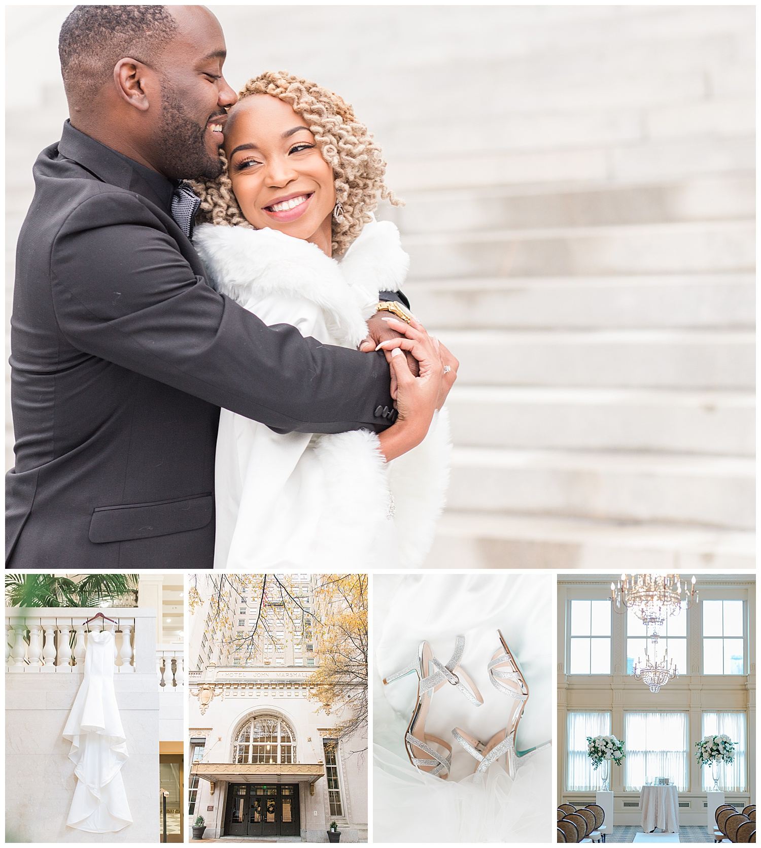 John Marshall Ballrooms Wedding - Virginia Wedding Photographer