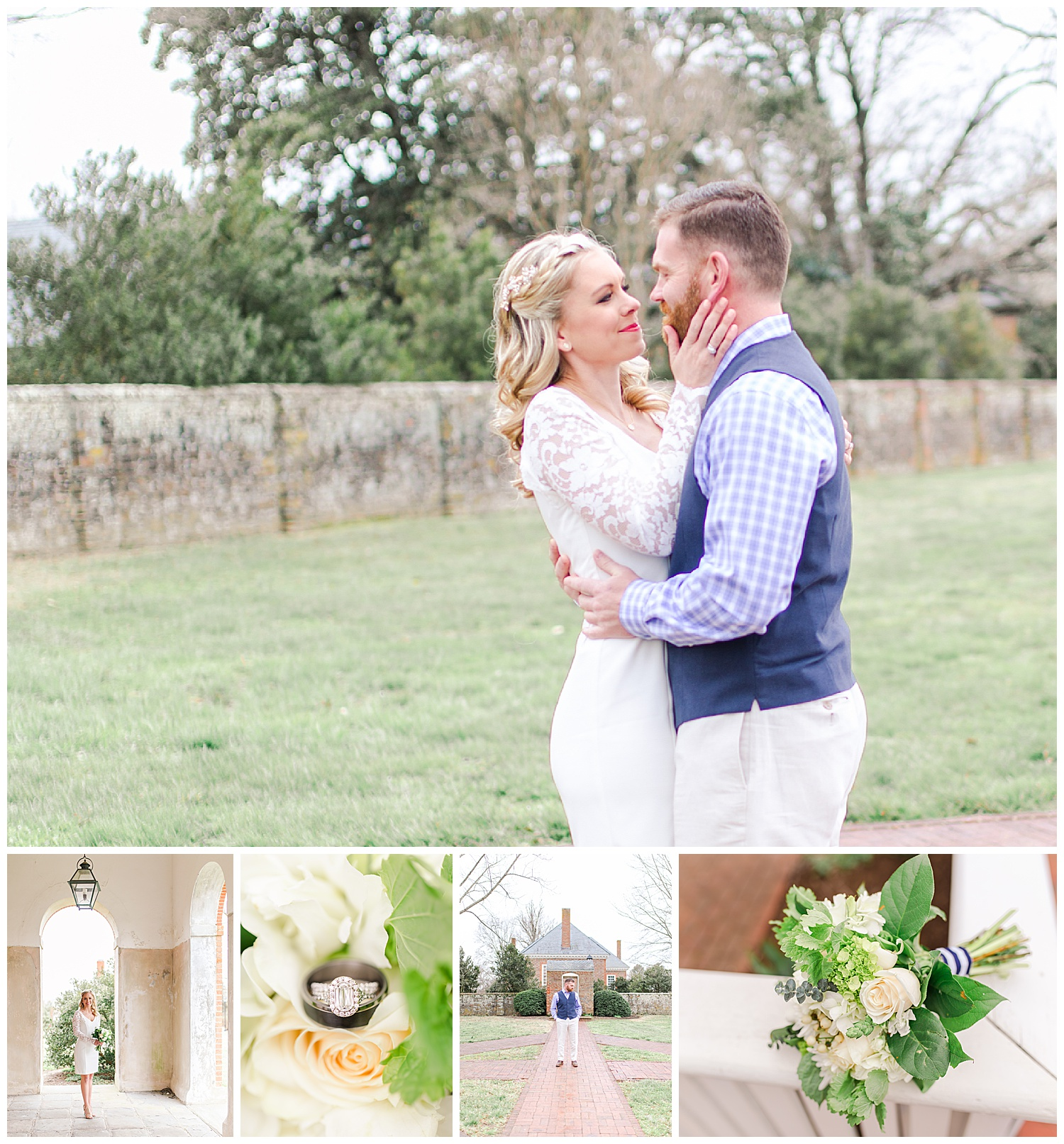 Hanover Tavern Wedding - Mike + Marianne - Virginia Wedding Photographer