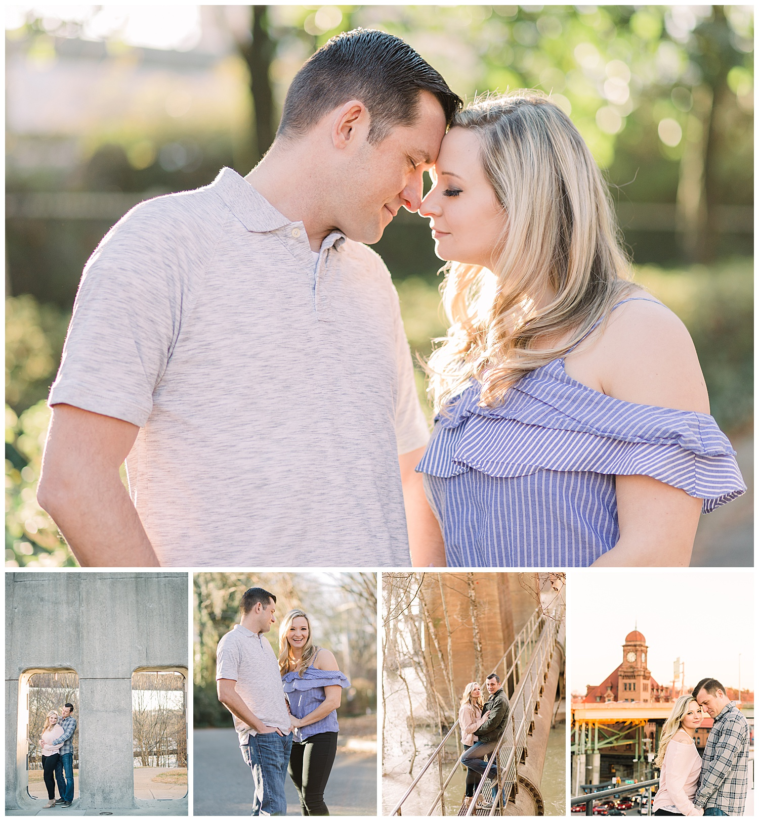 Shockoe Bottom Engagement Photos - Virginia Wedding Photographer