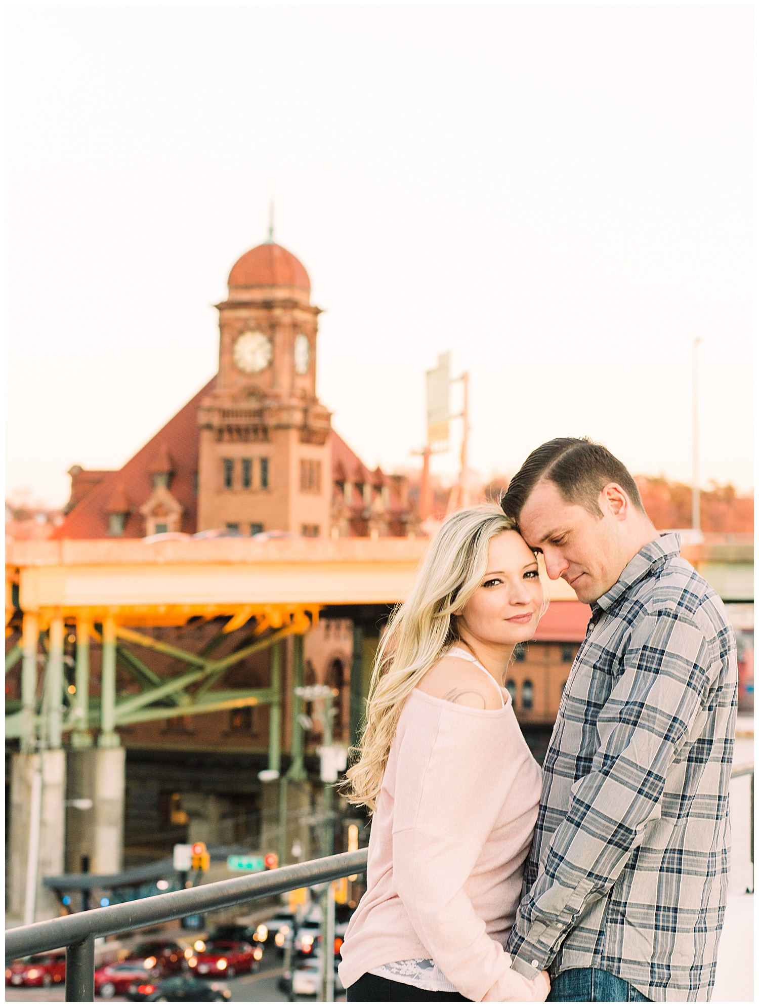 Shockoe Bottom Engagement Photos - Valerie + Scott