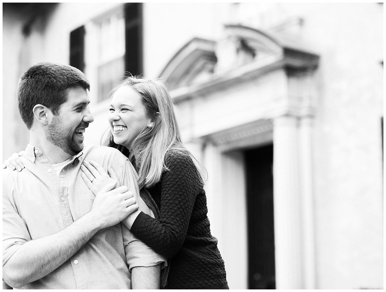 Monument Avenue Engagement Session - Virginia Wedding Photographer