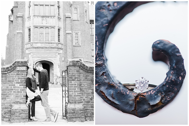 Branch Museum Engagement - Virginia Wedding Photographer