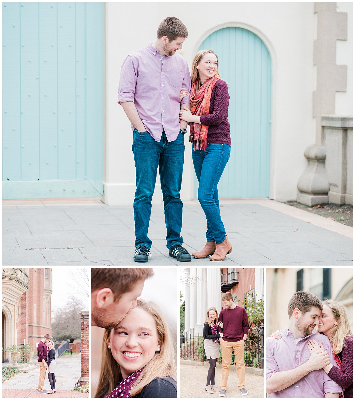 Monument Avenue + Branch Museum Engagement Session