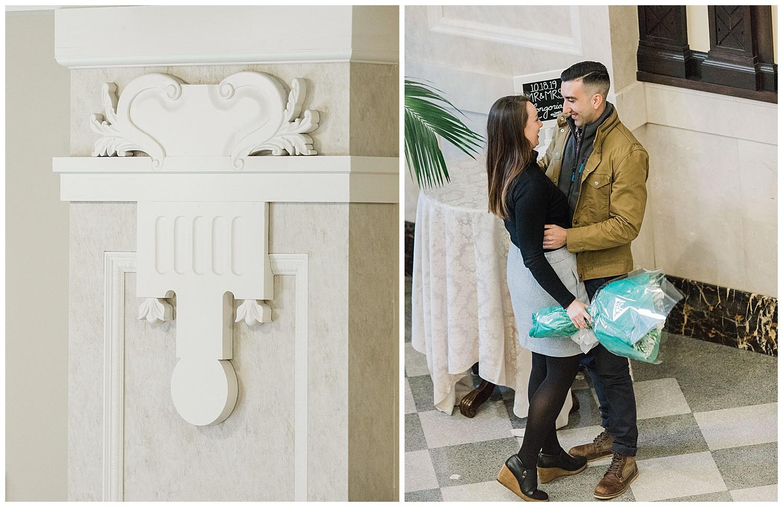 John Marshall Ballrooms Proposal - VA Wedding Photographer