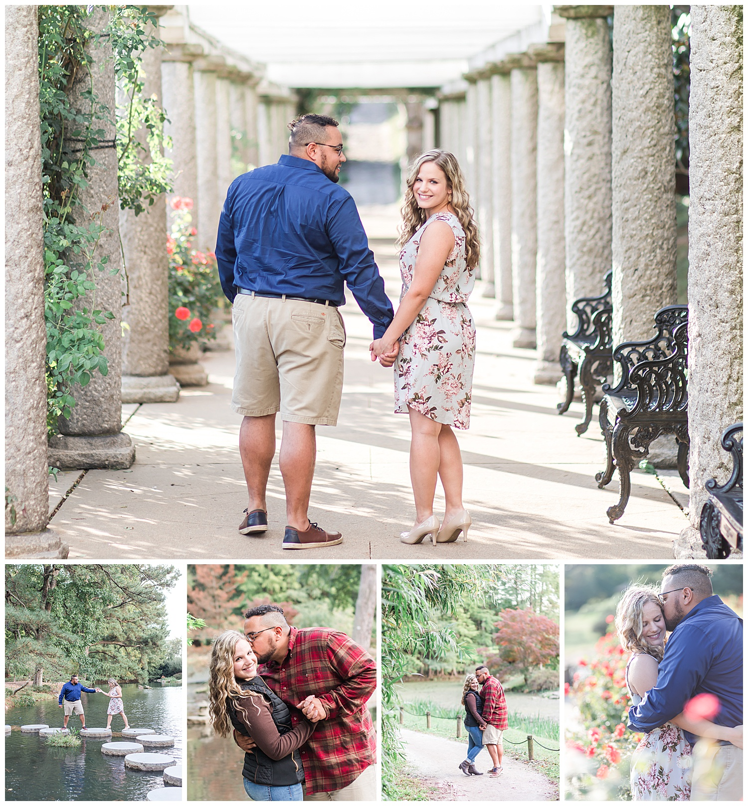 Maymont engagement session - Virginia Wedding Photographer