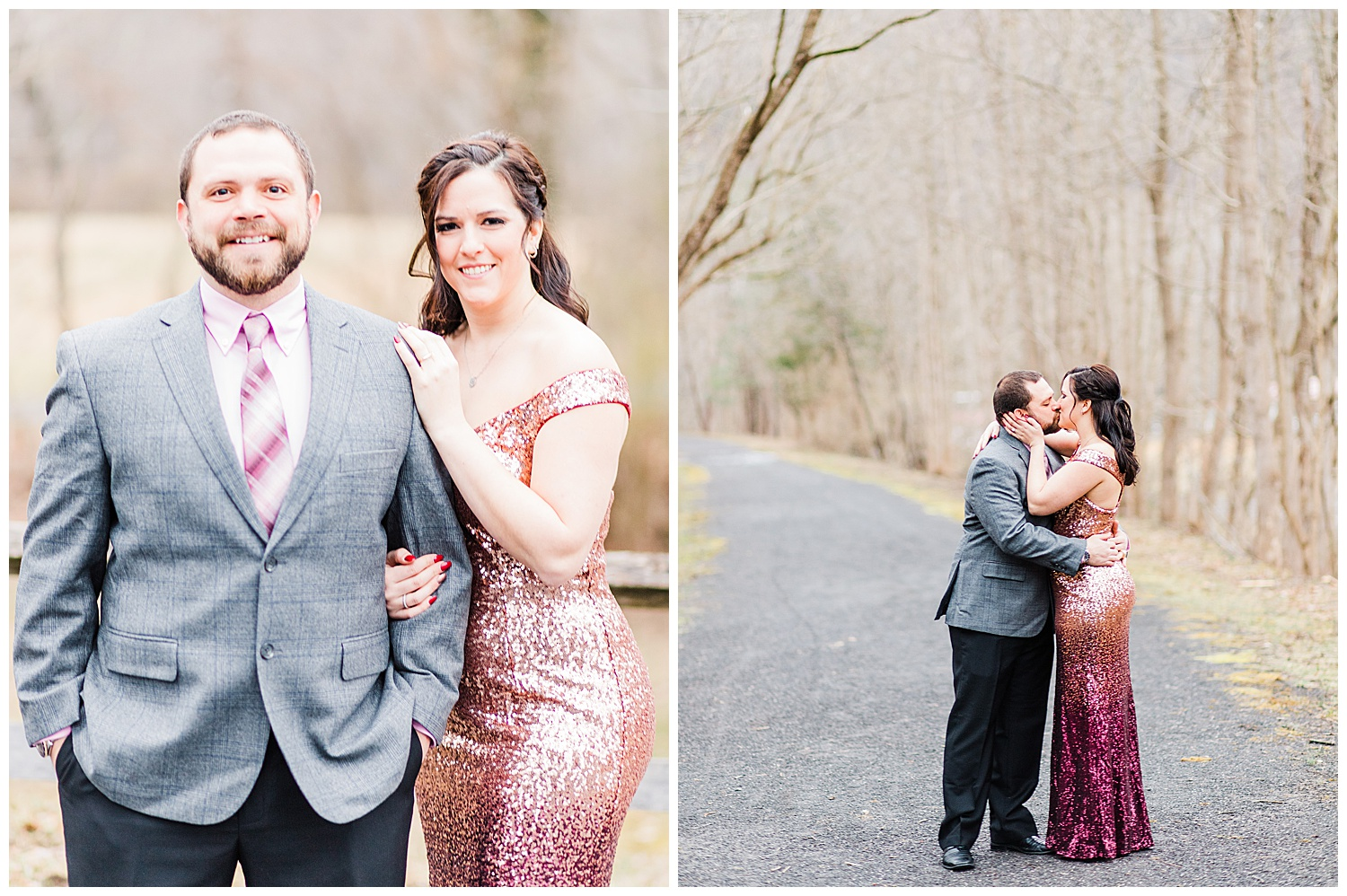 Covington Virginia Engagement Session - Jackson River Scenic Trail
