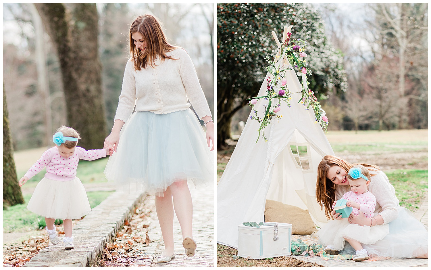 Richmond Family Photography - Teepee Bohemian Styled Shoot