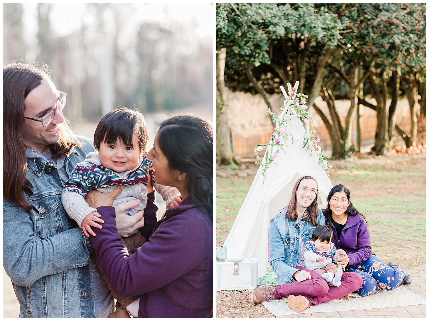 Bohemian Styled Shoot Family Sessions - Richmond Virginia Photographer