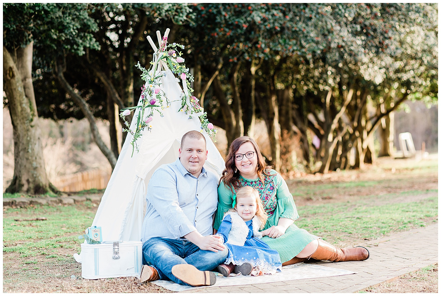 Teepee Family Portraits