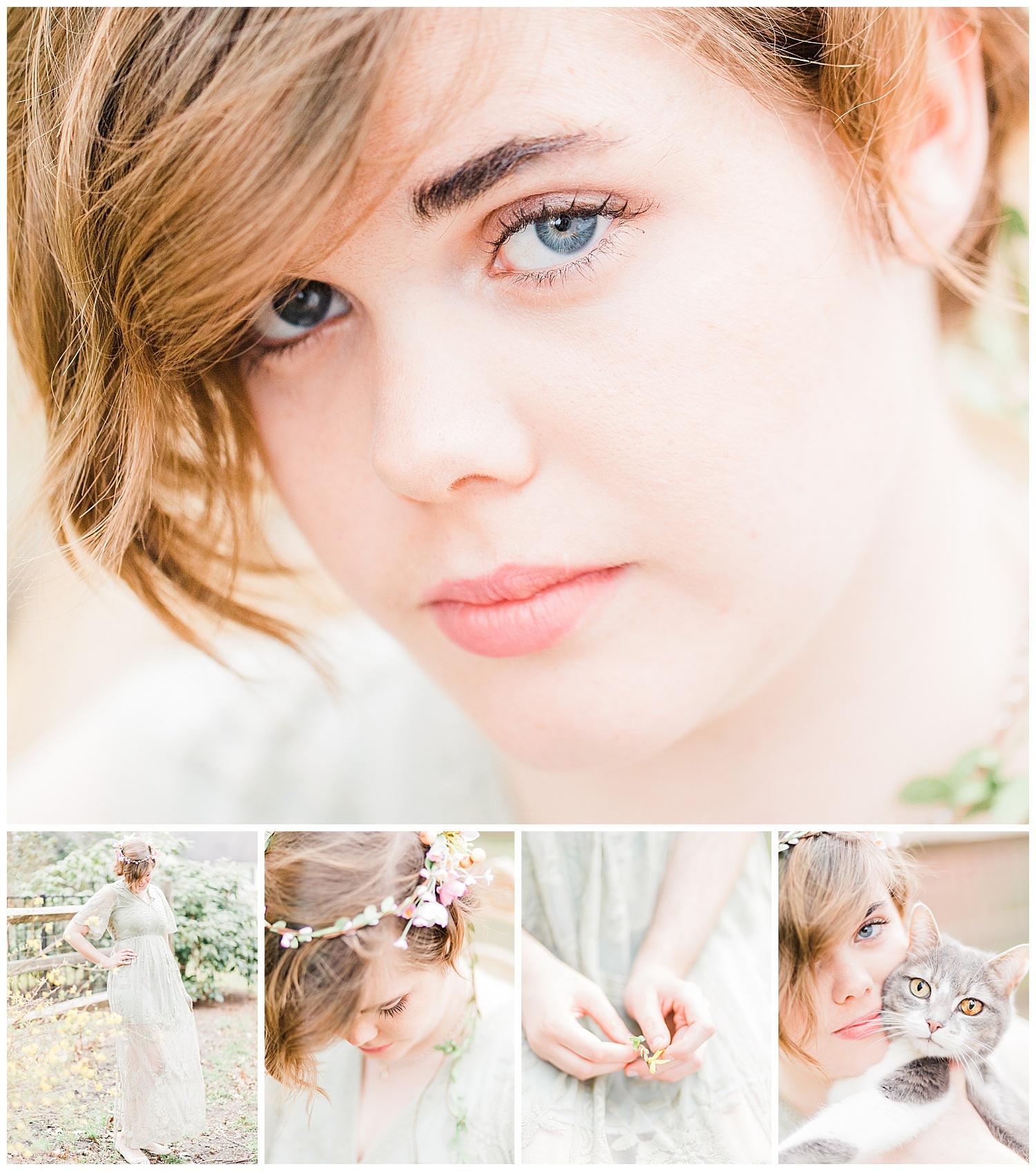 Dreamy Portrait headshot - Virginia family photographer