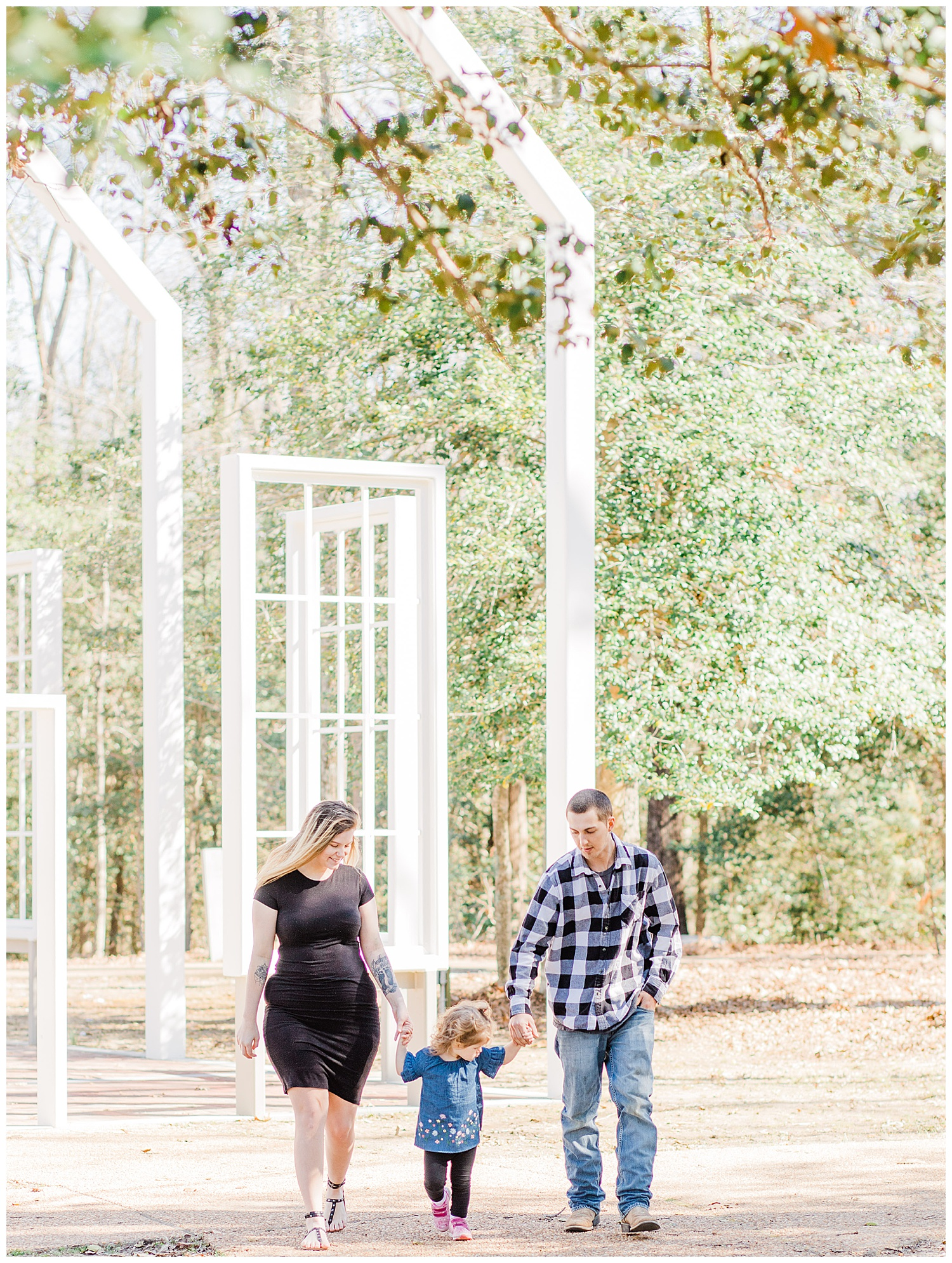 Historic Polegreen Church Family Portraits - Virginia Portrait Photographer