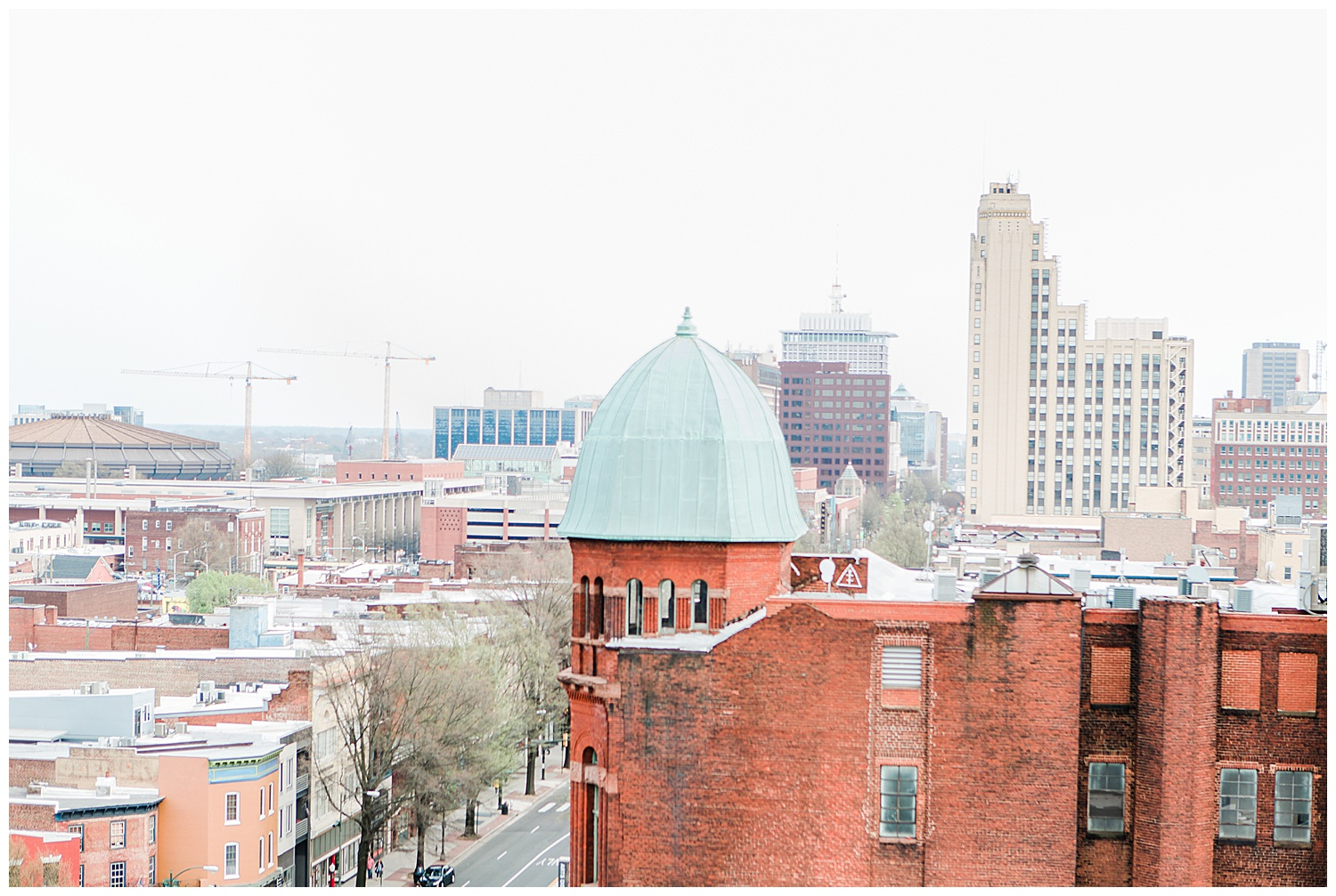 Quirk Hotel Rooftop Surprise Proposal - Virginia Wedding Photographer