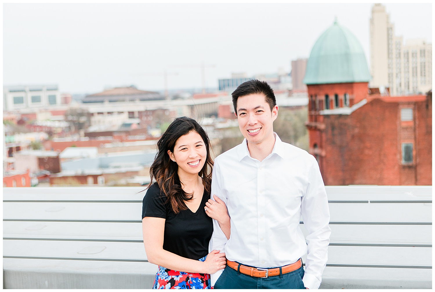 Quirk Hotel Rooftop Proposal - Virginia Wedding Photographer