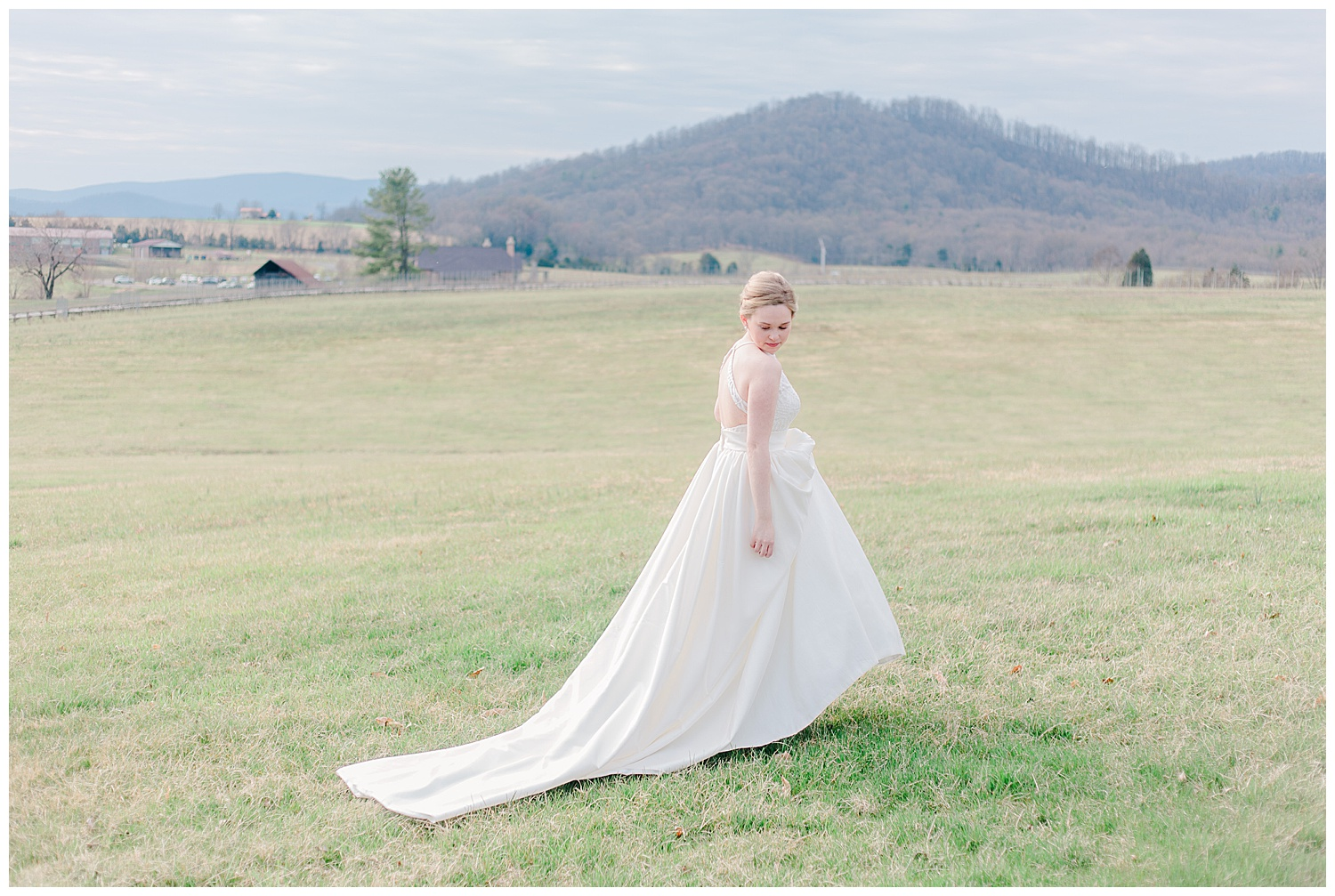 Early Mountain Wedding  First Look - Charlottesville, VA